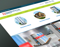 Site for manufacturing company «Modern windows»