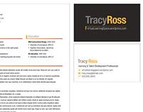 Tracy Ross Branding