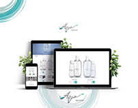 AQUA- Website & branding design