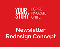 YourStory - Newsletter Redesign Concept