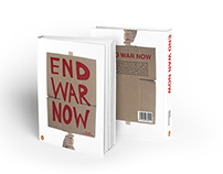 END WAR NOW - Book Cover Design