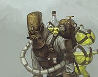 Character concept art 03 // the Plague sower