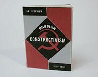 Russian Constructivism Chap Book