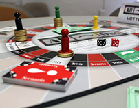 All-Out Board Game: The Game of Gambling Addiction