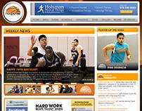 Hoopsville Basketball Website
