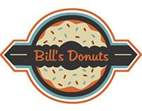 Bill's Donuts logo