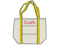 CRAFT tote bag concepts