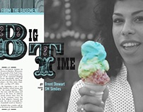 ROLLING STONE: feature article spread