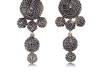 Rope Textured Earrings