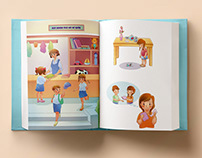 Illustration book for kids
