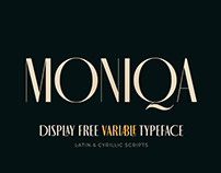MONIQA TYPEFACE / Free / Variable / Latin & Cyrillic