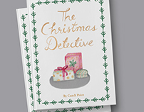 The Christmas Detective | Book Cover Design | 2017