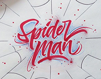 Brushpen Lettering Set Superheroes Edition