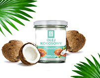 Coconut oil Evergood package