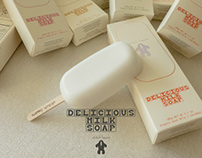 New Zealand Milk Soap # Stitch Bears, Branding, Package