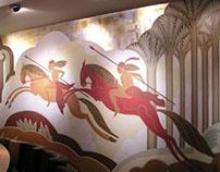 Comans Restaurant Rathgar - Mural