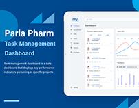 Parla Pharm - Task Management Dashboard