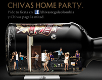 Campaña Chivas Home Party - Chivas Regal