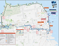 Maps for The San Francisco Marathon