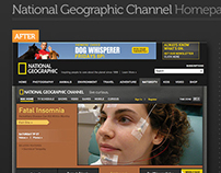 National Geographic TV Redesign