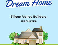 Dream Home / Silicon Valley Builders Ad Poster