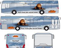 Printed bus