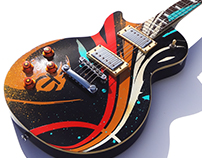 Custom Les Paul Guitar