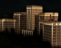 Architectural lighting design. (University, Kharkiv)