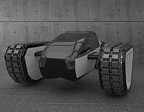 Design tracked vehicle