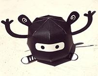 Ninja en zapatillas