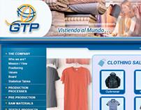 Web Global Textil Perú