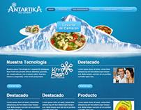 Antartika Website
