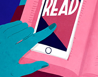 Animation »Read more, swipe less«