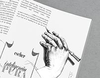 Escher Inteligencia pura. Magazine Page