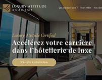 Luxury Attitude - UI/UX Website