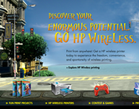 Hewlett-Packard | Monsters VS Aliens Campaign