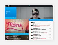 Twitter Homepage {school}