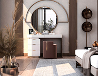 Dressing Table design in kSA (private villa)