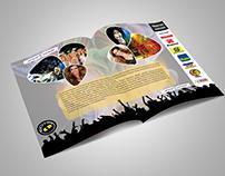 Projeto gráfico Encarte e CD