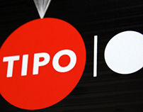 Tipo 10 exhibition visual identity