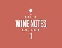 WINE NOTES / Logotype - Branding