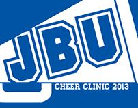 Shirt - JBU Cheer Clinic 2013