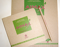 Corporate identity for Aimax.