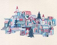 Snowman Town