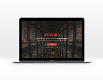 Promo site for Autora project.