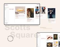 Scotts Square Web Redesign