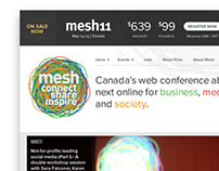Mesh Conference Website