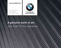 Design, artwork and retouching for BMW / MINI