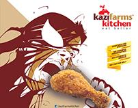 Kazi Farms Kitchen Branding in Comicon 2015