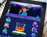 Space bar game concept. Drink EM ALL